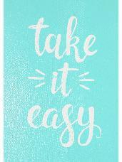Šablóna 14,7x21cm - Take it easy