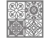 Šablóna 18 x 18 cm - Ornamenty