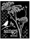 Šablóna 20 x 25 - Sings my soul
