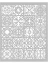 Šablóna 20 x 25cm - Mozaika