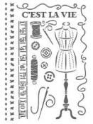 Šablóna 21 x 29,7cm - Šitie II