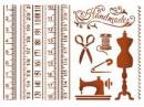 Šablóna 21 x 29,7cm - Šitie