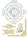 Šablóna 21 x 29,7cm - Kompas