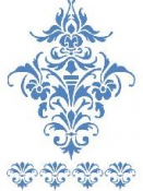 Šablóna 21 x 29,7cm - Ornamenty