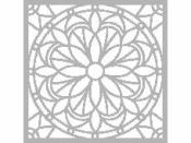 Šablóna 30 x 30 cm - Mandala