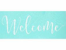 Šablóna 37x15cm - Welcome