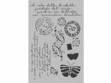 Šablóna 21 x 29,7cm - pošta