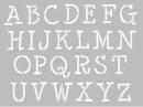 Šablóna A4 - abeceda