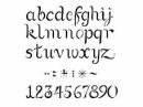 Šablóna 20 x 27cm - abeceda a čísla