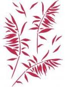 Šablóna 21 x 29,7cm - Bambus