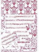 Šablóna 21 x 29,7cm - Fantázia