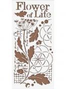 Šablóna 12 x 25 cm - Flower of life