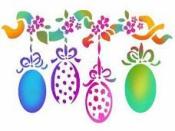 Šablóna 15 x 20 - vajíčka