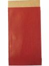 Papierové vrecko - 15 x 7cm - červené