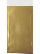 Papierové vrecko - 15 x 7cm - zlaté