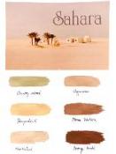 Sada akrylových farieb 6 ks - edícia Sahara