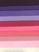 Sada filcov 1 mm A4 - 10 ks -  rosalie