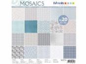 Sada scrapbookových papierov - Mosaics