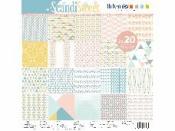Sada scrapbookových papierov - Scandi Sweet
