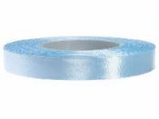 Saténová stuha - 12mm - baby modrá