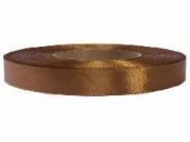 Saténová stuha - 12mm - bronzová