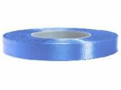 Saténová stuha - 12mm - country modrá