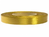 Saténová stuha - 12mm - egyptská zlatá