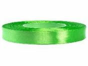 Saténová stuha - 12mm - listová zelená