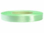 Saténová stuha - 12mm - pastelová zelená
