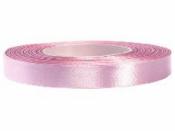 Saténová stuha - 12mm - vintage ružová