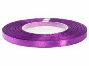 Saténová stuha - 6mm - biskupská fialová