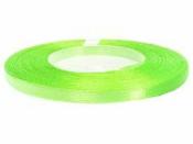 Saténová stuha - 6mm - neónová zelená