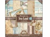 Sada obojstranných scrapbookových papierov - Sea Land