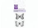 Silikónová pečiatka - motýle