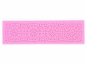 Silikónová odlievacia forma - čipka