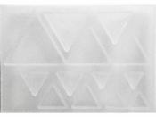 Silikónová odlievacia forma na živicu - trojuholníky