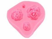Silikónová odlievacia forma - ruže