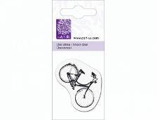 Silikónová pečiatka - bicykel