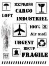 Silikónové pečiatky A5 - Cargo