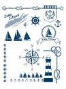 Silikónové pečiatky A5 - námornícke