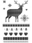 Silikónové pečiatky 9x14cm - vianoce