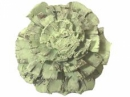Šiška rezaná - pastelová zelená