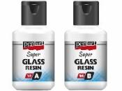 Super sklenená živica 40 ml 1:1- číra, bezfarebná