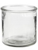 Sklenený svietnik - 7,8 cm