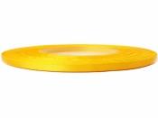 Saténová stuha - 3mm - slnečnicová žltá