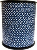 Špirálovacia stužka Maroko - modrá