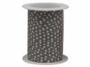 Špirálovacia stužka s hviezdičkami - šedá