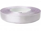 Saténová stuha - 10mm - sivo-fialová