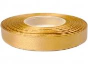 Saténová stuha - 20mm - medová zlatá