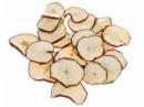 Sušené jablká pláty 10 kusov - červené